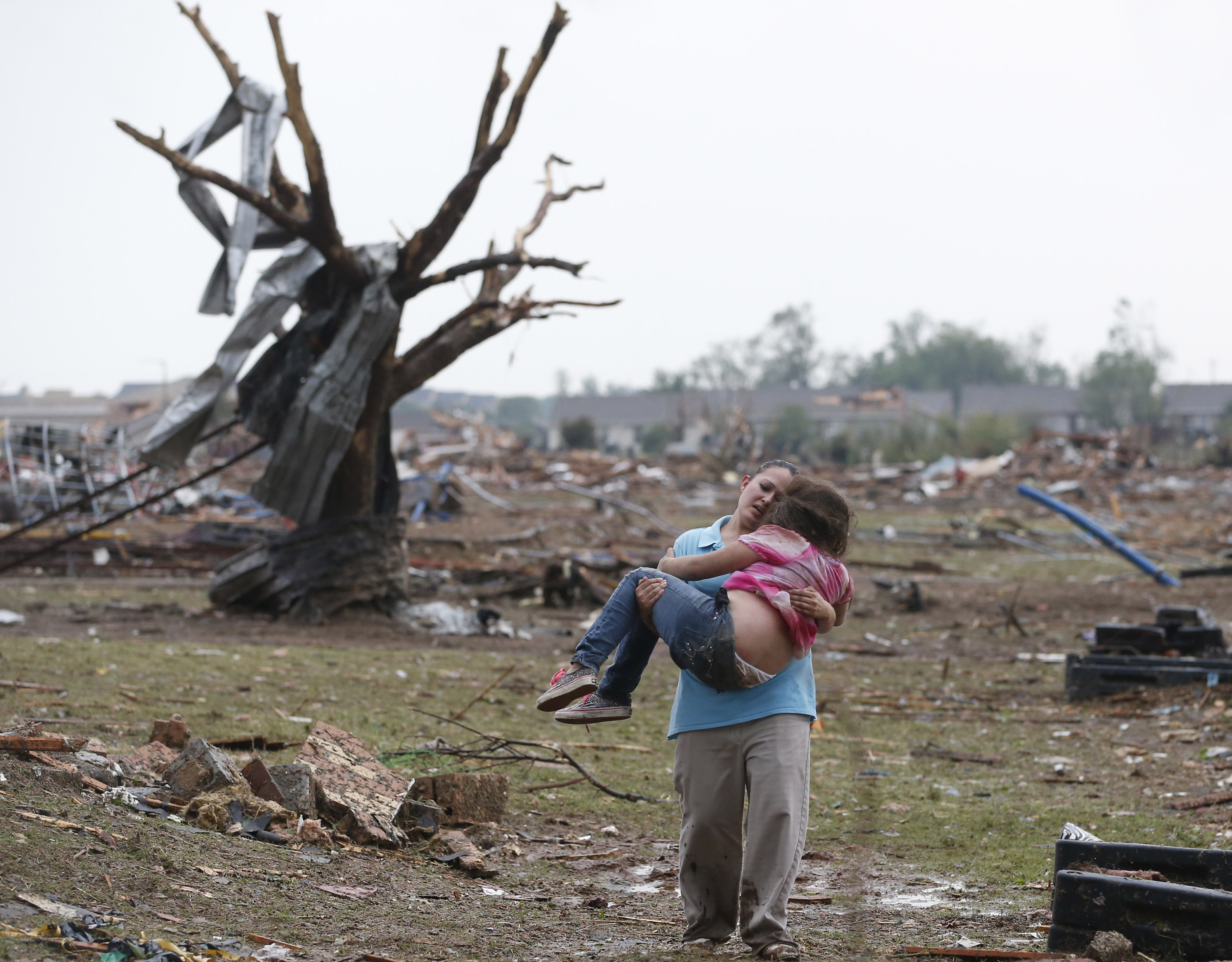 Oklahoma con un tornado