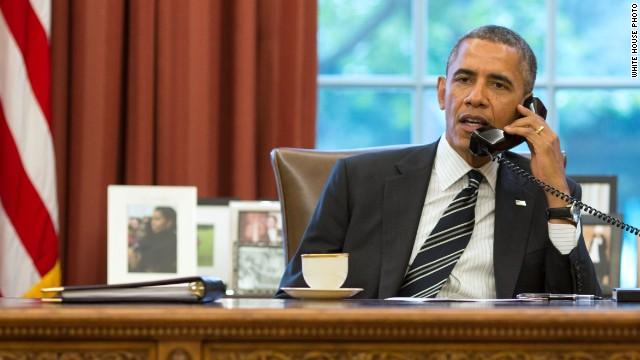 Obama entrevista Dra Isabel