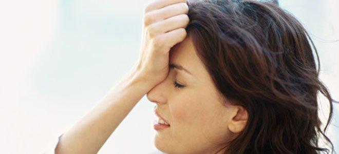 Mujer con ataques de ansiedad